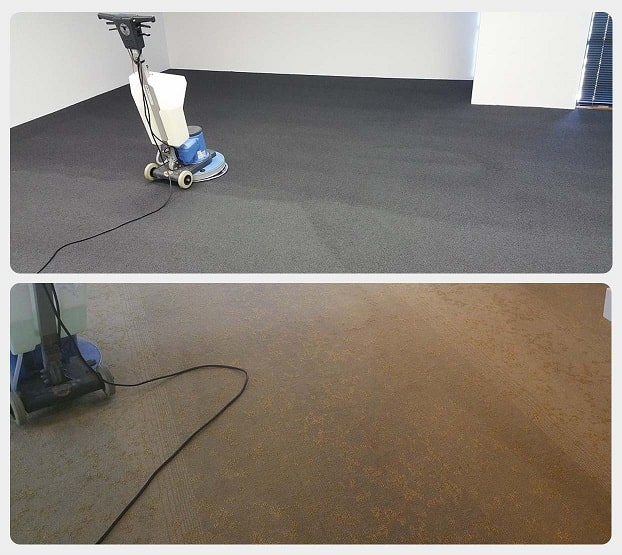 Office carpet cleaning in Perth.